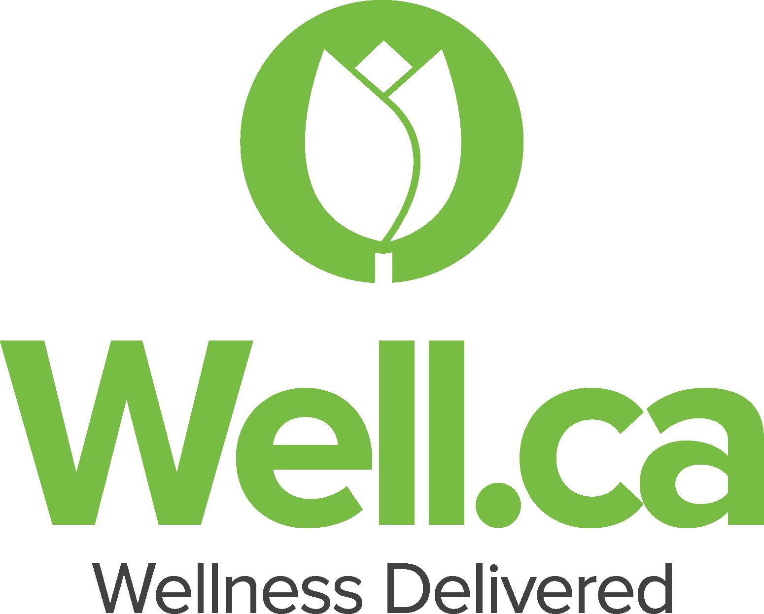 Well.ca clickable logo